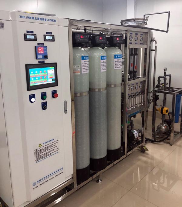 化工行業實驗室用高純水(shui)生產設備 醫用純水(shui)處理系統 西安醫用純水(shui)系統